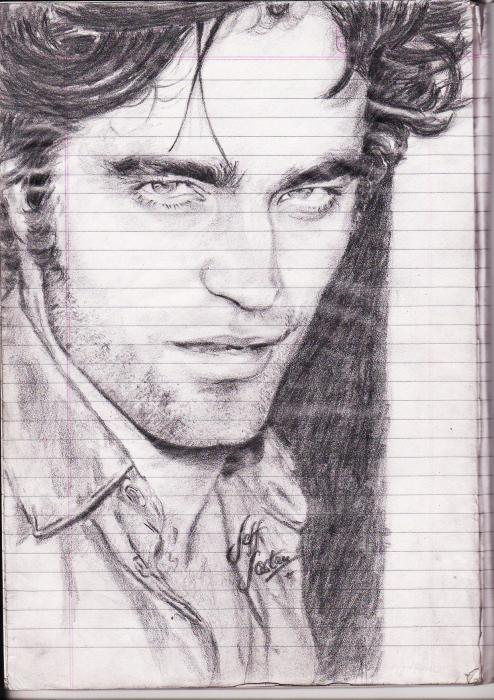 Robert Pattinson by jeffcoolfoster92